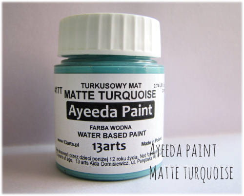 http://13arts.pl/pl/p/Ayeeda-Paint-Matte-Turquoise/256