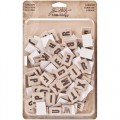 Tim Holtz Alpha-Chips