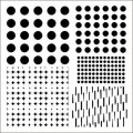 Maska / Shapes-Dots