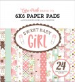Sweet Baby Girl Paper pad