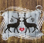 Serwetka Stags in Love