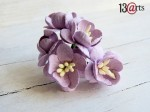Cherry blossoms light purple 5 pcs