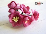 Cherry blossoms dark pink 5 pcs