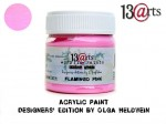 Acrylic Paint Flamingo Pink