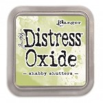 Tusz Distress Oxide shabby shutters