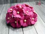 Dark Pink sweet flowers 10 pcs