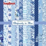 "Paper pad ""Rhapsody in blue"""