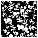 Maska-Stencil Flourish