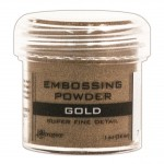 Embossing powder super fine detail GOLD
