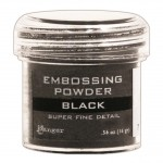 Embossing powder super fine detail BLACK