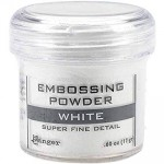 Embossing powder super fine detail WHITE