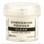 Embossing powder super fine detail CLEAR
