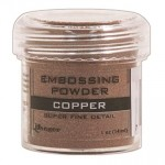 Embossing powder super fine detail COPPER