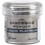 Embossing powder LIQUID PLATINUM