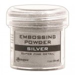 Embossing powder super fine detail SILVER