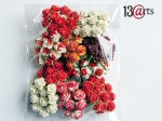 Zestaw mini roses Red and white mix