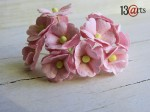 Pink sweet flowers 10 pcs