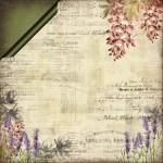 Papier Lavender fields