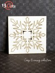 "Tekturka Chipboard ""Snowflake-big"""