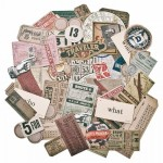 Tim Holtz Ephemera - Expedition