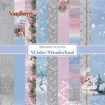 "Paper pad ""Winter Wonderland"""
