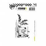 "Stempel - A7 ""Collage sur fond carte postale"""