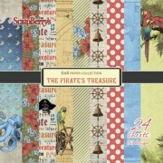 "Paper pad ""The pirates treasure"""