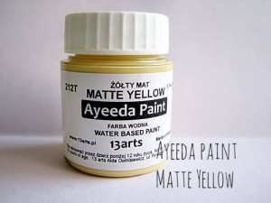 Ayeeda Paint - Matte Yellow