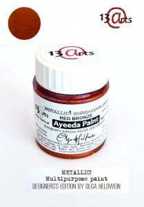 Ayeeda Paint METALLIC! Red Bronze