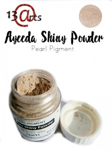 Ayeeda Shiny Powder Pink Silver