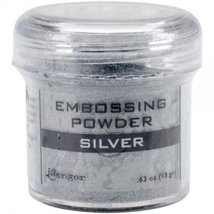 Embossing powder SILVER