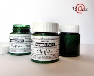 Ayeeda Paint METALLIC! Green