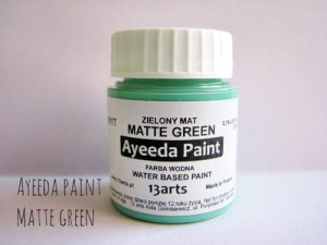 Ayeeda Paint - Matte Green