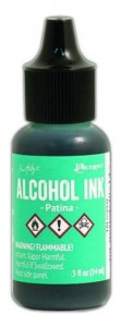 Alkohol Ink Patina