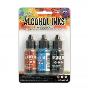 Alkohol Ink Set 3pcs Miners lantern