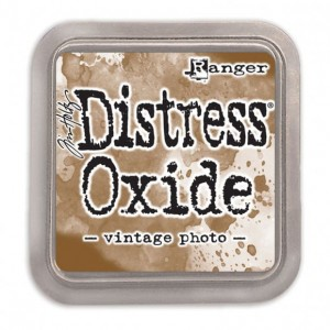 Tusz Distress Oxide vintage photo