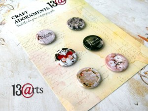 Badziki - Badge set, 6 pcs, 25mm
