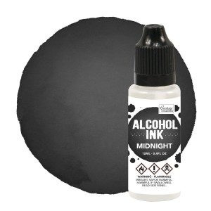 Alkohol Ink   MIDNIGHT 12 ml