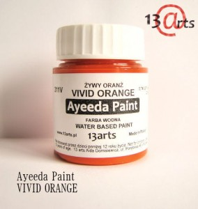 Ayeeda Paint - VIVID Orange