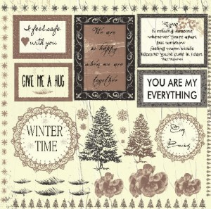 """Winter Letters"" HOT CHOCOLATE edition"