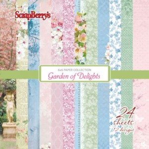 "Paper pad ""Garden of Delights"""