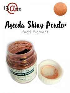 Ayeeda Shiny Powder Red Bronze