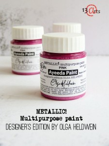 Ayeeda Paint METALLIC! Pink