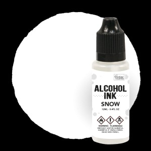Alkohol Ink  SNOW 12 ml