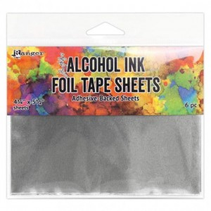 Alkohol ink Foil tape Sheets 6pc