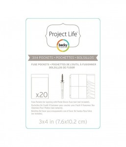 Project life fuse pockets - kieszonki
