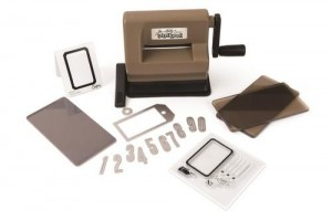 Sizzix Sidekick Starter Kit Brown & Black TH 662535 Tim Holtz