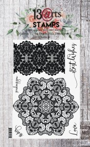 Stempel Crocheted A6