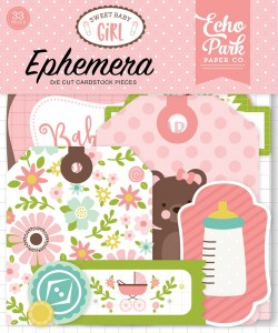 Sweet Baby Girl Ephemera